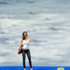 1/43 Girl with the phone, Pinup figure