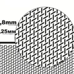 1/35 Diamond wire mesh