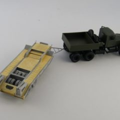 1/72 Soviet heavy trailer MAZ 5208