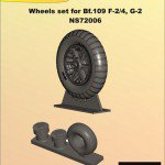 1/72 Wheels set for Bf.109 F-2/4, G-2
