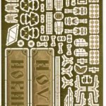 1/700 Detail set for 2nd class cruiser Novik (Kombrig model kit)
