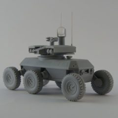 1/35 ARV-AL XM1219 Armed Robotic Vehicle Resin Kit