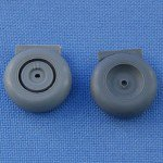 1/48 Main wheels set for Focke Wulf FW.189