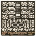 1/350 Armament detail for battleships, cruisers  and destroyers of Imperial Russian NAVY