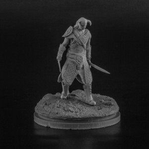 28 mm DragonSlayer resin figure