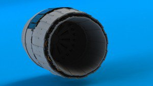 Coming soon – in progress MiG-29 exhaust nozzles