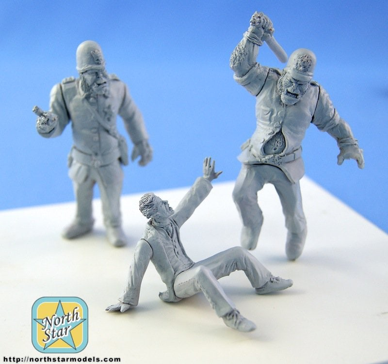 54 mm Orc cops in action – master-models photos