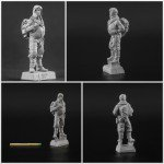 54 mm Luftwaffe 46 Pilot with Jet pack