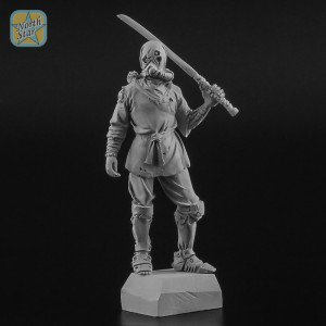 54 mm figure of Cyber Ninja