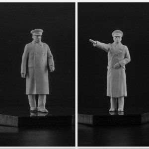1/72 set Despots of 20th century (Stalin and Hitler figures)