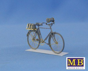 MasterBox 1/35 German Military Bycicles