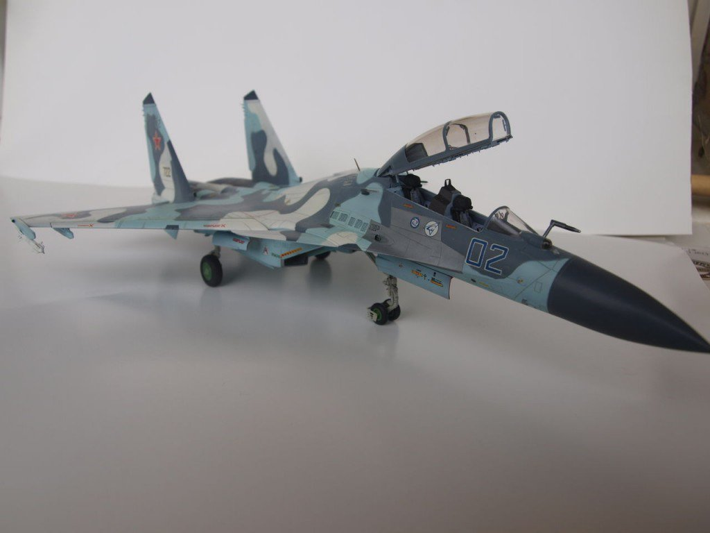 1/72 Conversion Su-30MKI (from Trumpeter kit)