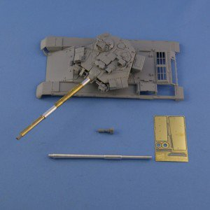 New barrels for Soviet Russian tanks 1/35 scale