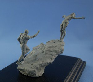 """End of story"" 54 mm diorama  – coming soon!"