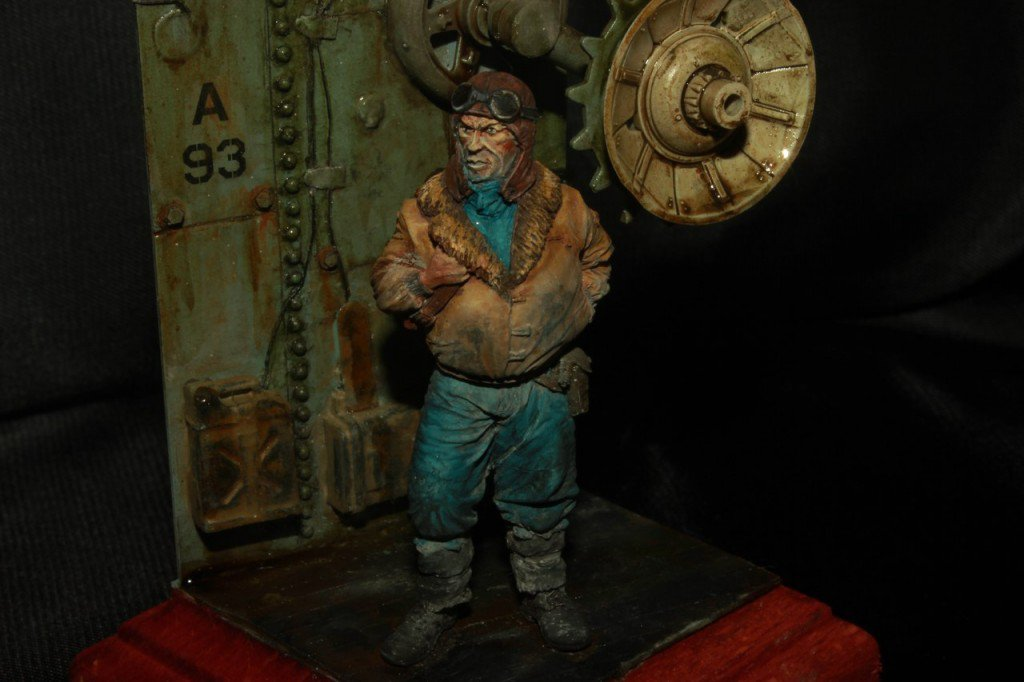 Customer works: 54mm Recovering diorama