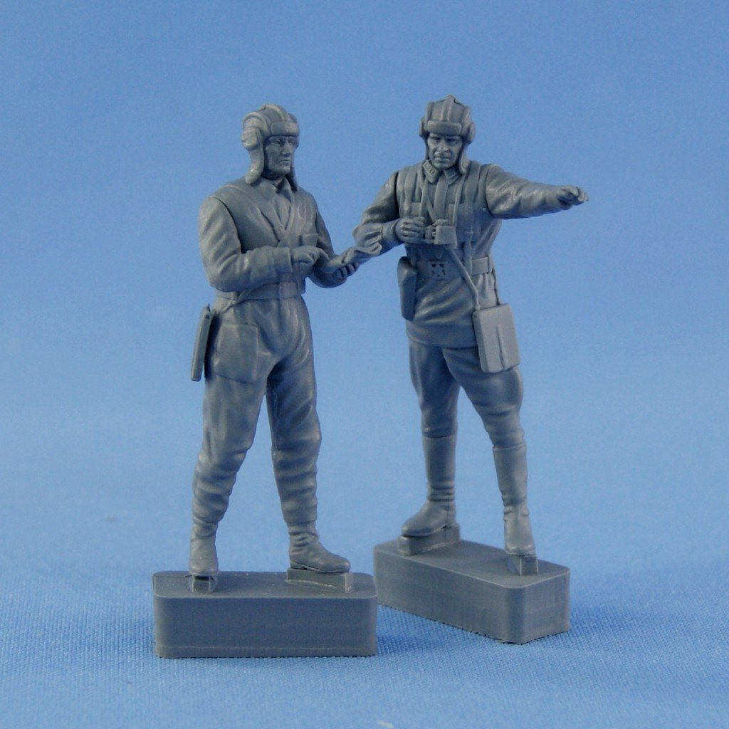 New figures in 1/35 scale – Soviet tank or armored car crew 1939-1942