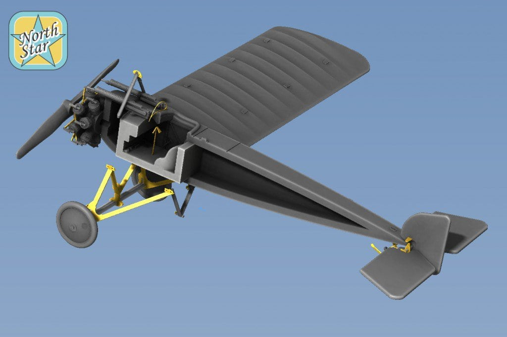 Coming soon – 1/144 scale WWI Pfalz E IV