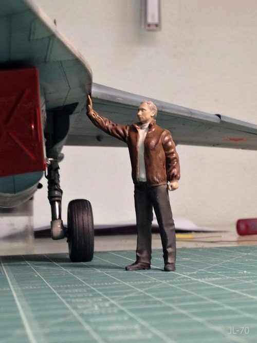 1/32 Mr.President with Mig-29