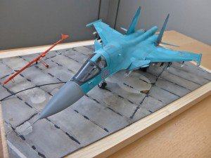 Italeri 1/72 Su-34 with NorthStarModels exhaust nozzles