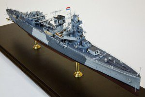 PacificCrossRoads 1/350 De Ruyter with NorthStarModels sailors