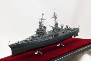 Academy 1/350 USS Indianapolis CA-35 with NorthStarModels aftermarket