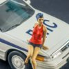 1/43 Girl sitting on the hood – painted
