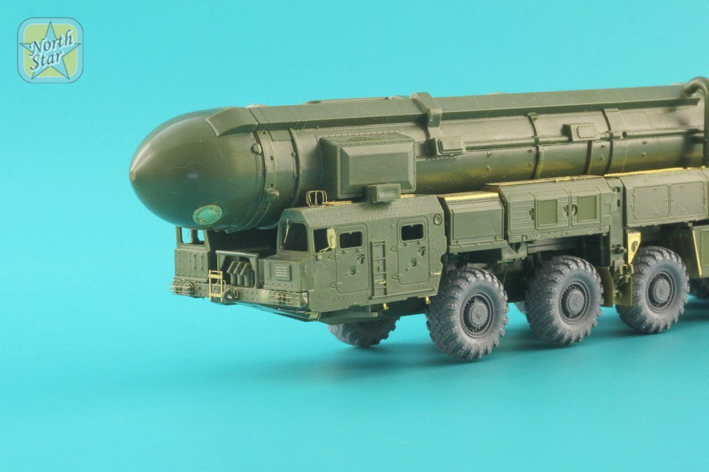 New 1/72 photoetched sets for SS-25 Topol Zvezda