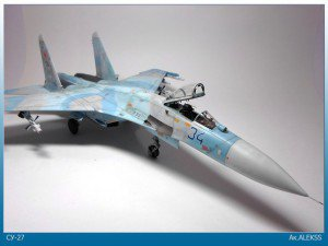 Academy 1/48 Su-27 Flanker with NorthStarModels aftermarket