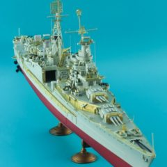 1/350 Basic Detail up set for USS Indianapolis CA-35 Academy kit