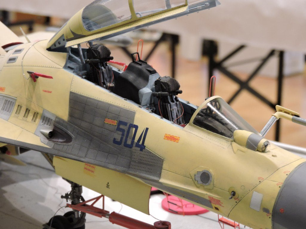 Trumpeter 1/32 Su-27 Flanker with NorthStarModels aftermarket