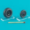 1/32 Wheels set for Messerschmitt Me.262 Type 2  Light series