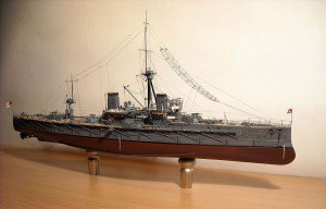 Trumpeter 1/350 HMS Dreadnought + NorthStarModels photo etching