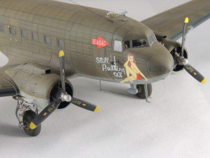 Airfix 1/72 C-47 Dacota with NorthStarModels decal