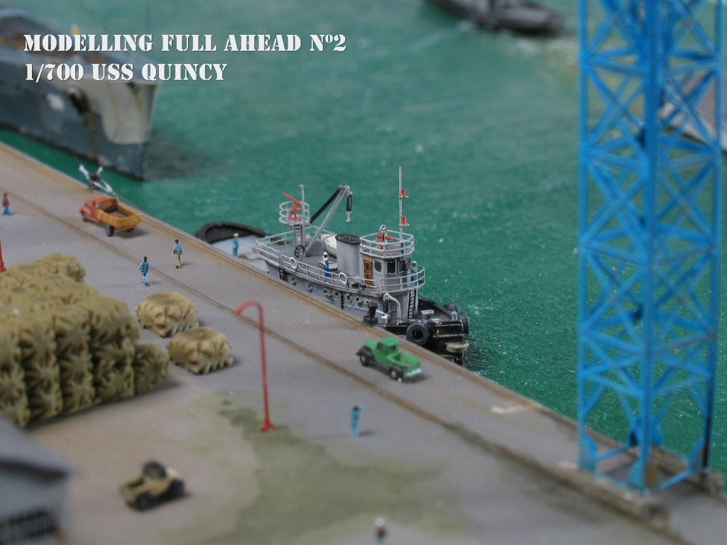 NorthStarModels1/700 USS Quinsy diorama