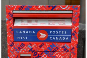 Warning: Canada Post Service problem