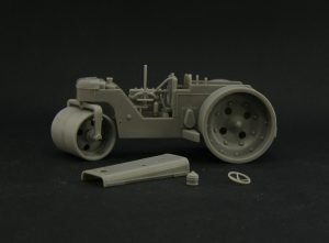 Coming soon – D-211 Soviet road roller plastic kit in 1/43 scale