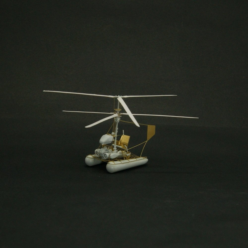 Coming soon – Kamov Ka-8 Helicopter in 1/48 resin model