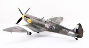 ICM 1/48 Spitfire Mk VIII with NorthStarModels wheels