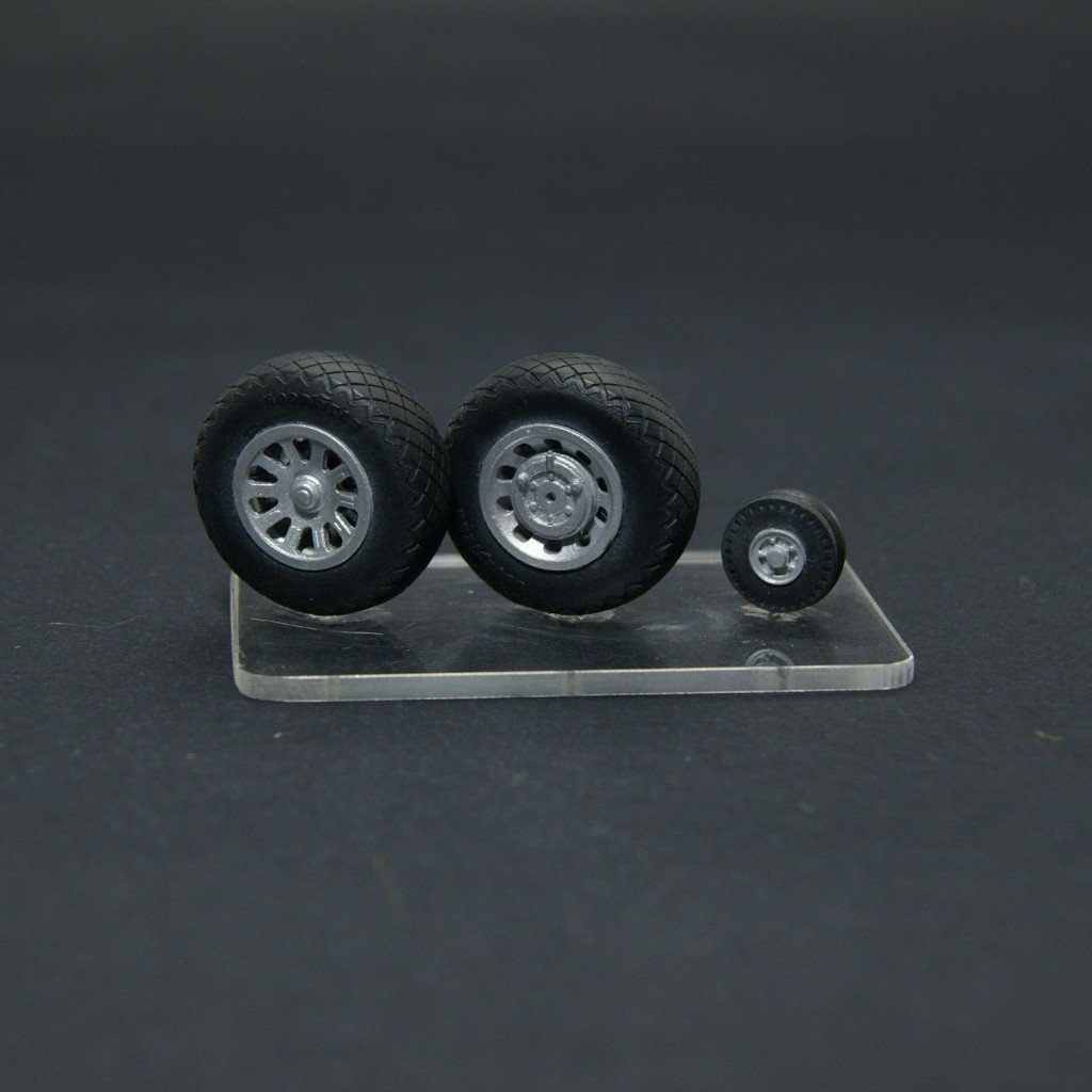New Items 1/32 scale – wheels for WWII aircrafts – USA, USSR, German