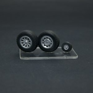 1/32 North American P-51 Mustang wheels set –  No Mask series.