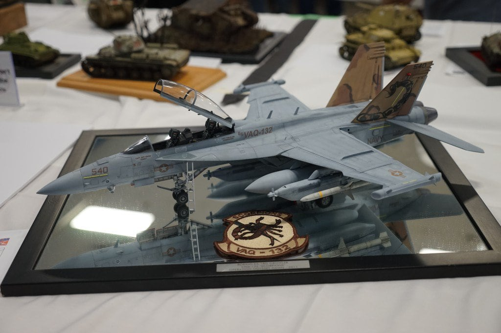 Trumpeter 1/32 EA-18 Growler with NorthStarModels wheels