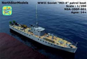 New 1/200 and 1/350 Soviet Russian NAVY WWII and modern