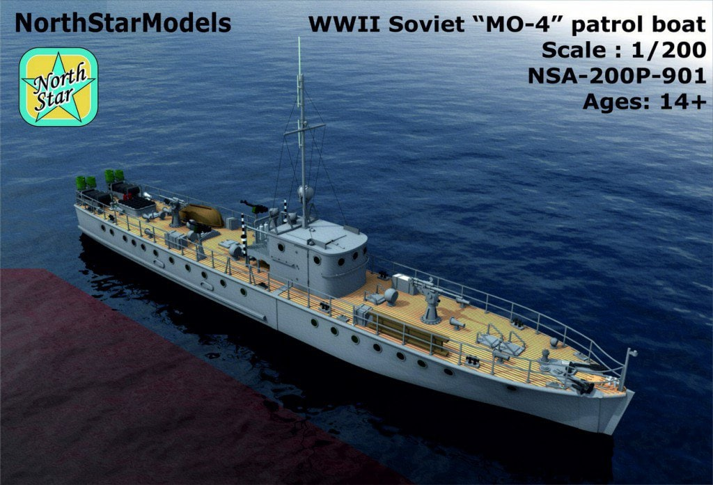 New 1/200 and 1/350 Soviet Russian NAVY WWII and modern ...