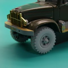 1/43 Wheels set for KrAZ-214 no mask series.