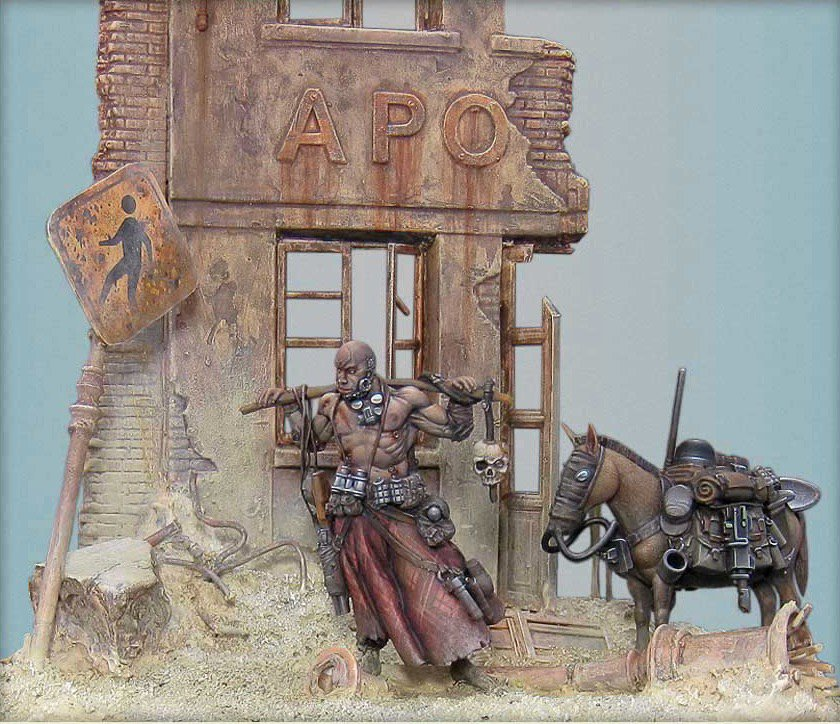 54mm The Good Sign diorama by Nakatan