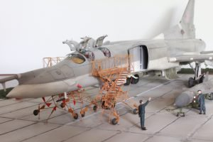 Trumpeter 1/72 Tu-22M2 with NorthStarModels ladders