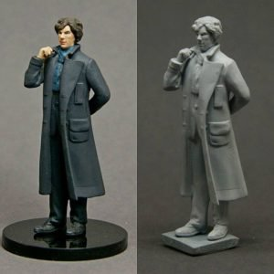54mm Sherlock resin figure