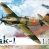 1/144 Yak-1 plastic kit (2 models in the box)