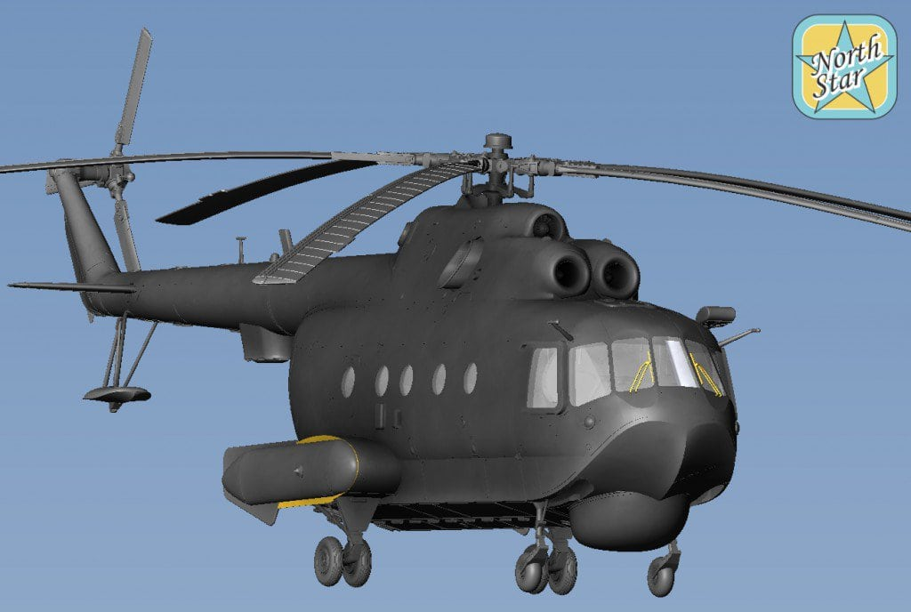 Coming soon – plastic set of Mil Mi-14 PL Helicopter in 1/72 scale