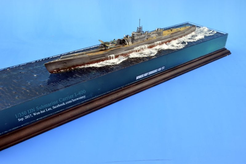1/350 Tamiya I-400 IJN Submarine Carrier